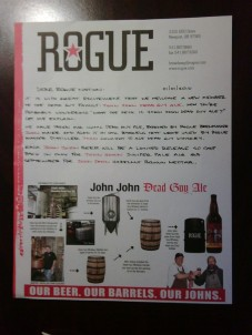 Rogue Letter